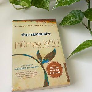 🎉5/$25 The Namesake by Jhumpa Lahiri Paperback